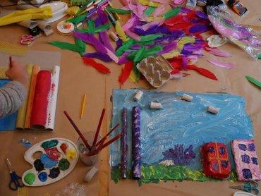Na warsztatach dzieci nauczą się podstawowych zasad kompozycji (fot. mat. organizatora)