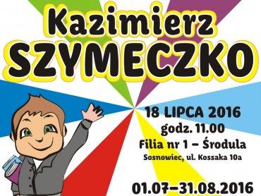 Kazimierz Szymeczko będzie gościem MBP w Sosnowcu (fot. mat. organizatora)