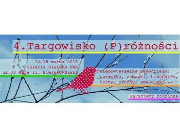 Targowisku (P)różności odbędzie się 14 marca w Bielsku-Białej (fot. mat. prasowe)