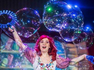 Interaktywne show to świetna zabawa dla całej rodziny (fot. mat. organizatora)