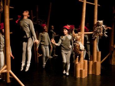 Teatr Baza, który tworzą dzieci, działa przy Miejskim Domu Kultury w Łaziskach Górnych (fot. mat. organizatora)