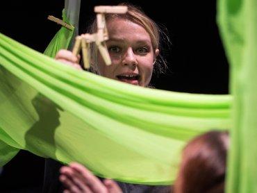 Najnaje, czyli najmłodsi widzowie, będą czynnie uczestniczyć w tworzeniu spektaklu (fot. Bożena Nitka)