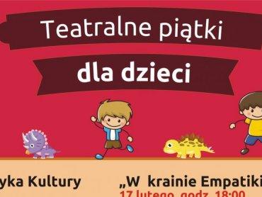"""""""Teatralne piątki dla dzieci"""" organizuje Miejska Biblioteka Publiczna w Dąbrowie Górniczej (fot. mat. organizatora)"""