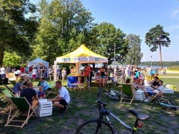Latem Tyskie Targi Śniadaniowe organizowane są w malowniczej scenerii Paprocan (fot. mat. organizatora)