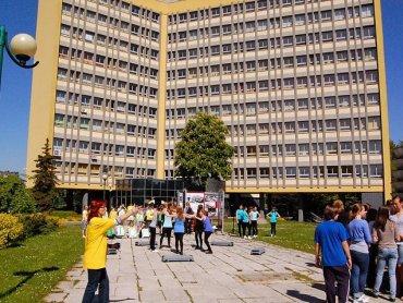 Tyski Alfabeton rozpocznie się na parkingu przed Urzędem Miasta (fot. mat. organizatora)