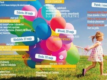 Najbliższy tydzień będzie wypełniony przeróżnymi atrakcjami dla dzieci (fot. mat. organizatora)