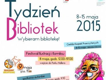 Tydzień Bibliotek potrwa od 8 do 15 maja (fot. mat. organizatora)