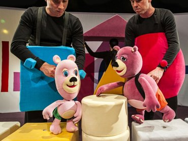 Jedna z najabrdziej znanych polskich sztuk dla dzieci przedstawiona zostanie w ciekawej scenografii (fot. mat. organizatora)