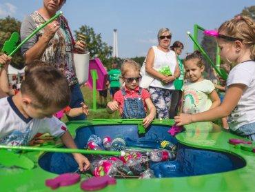 """""""Tyskie Żywioły"""" to liczne atrakcje dla najmłodszych (fot. mat. organizatora)"""