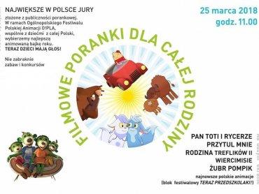 Która polska bajka okaże się tą najlepszą? Odpowiedź w kinie Amok 25 marca. (fot. Kino Studyjne Amok)