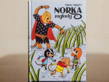 """""""Norka Zagłady"""" to drugi tom przygód Dobrzyka i jego przyjaciół (fot. Ewelina Zielińska)"""