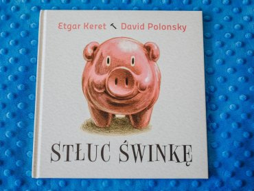 """""""Stłuc świnkę"""" to opowiadanie napisane przed Etgara Kereta (fot. Ewelina Zielińska)"""