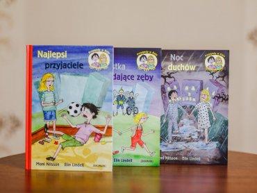 """""""Przygody w Raju"""" to seria książek dla dzieci wydawnictwa Zakamarki (fot. Ewelina Zielińska)"""