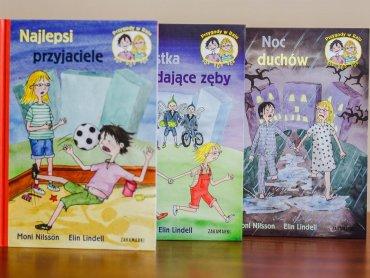 """""""Przygody w Raju"""" to seria książek do samodzielnego czytania wydawnictwa Zakamarki (fot. Ewelina Zielińska)"""