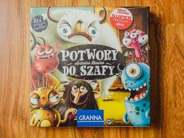 """""""Potwory do szafy"""" to gra wydawnictwa Granna rozwijająca pamięć dzieci (fot. Ewelina Zielińska)"""