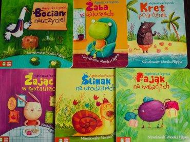 Serię wesołych wierszyków dla najmłodszych wydała Zielona Sowa (fot. Ewelina Zielińska)