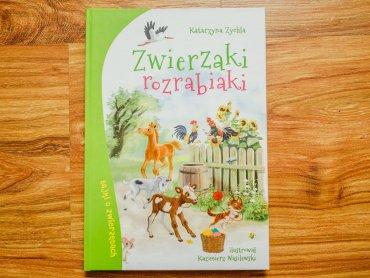 """""""Zwierzaki rozrabiaki"""" to opowiadania o zwierzętach z czytelnym morałem (fot. Ewelina Zielińska)"""