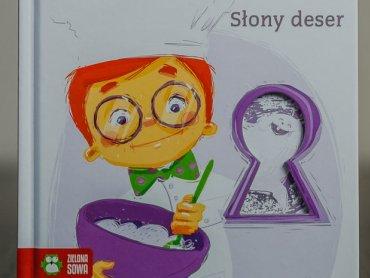 """""""Słony deser"""" to szósta część przygód detektywa Tomusia i jego przyjaciół (fot. Ewelina Zielińska)"""