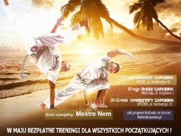 Pokaz w Domu Kultury Dąb jest elementem piątego Festival de Capoeira (fot. mat. organizatora)
