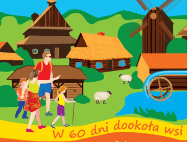 """Podczas """"Wakacji w skansenie"""" dzieci poznają takie zabawy jak """"Idzie Grześ przez wieś"""" (fot. mat. orgazniatora)"""