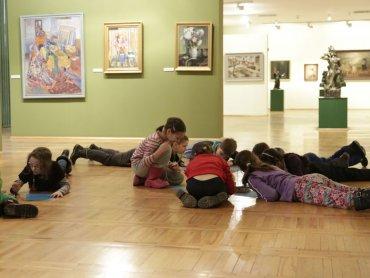 Własne akwarele stworzą dzieci w Muzeum Górnośląskim (fot. Witalis Szołtys, materiały Muzeum Górnośląskiego)