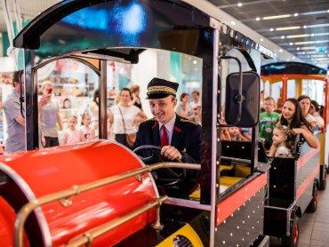 Przejażdżka kolejką to nie lada gratka dla maluchów (fot. mat. organizatora)
