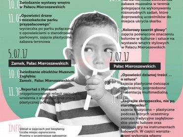 Wakacyjne warsztaty w Muzeum Zagłębia to zajęcia bezpłatne (fot. mat. organizatora)