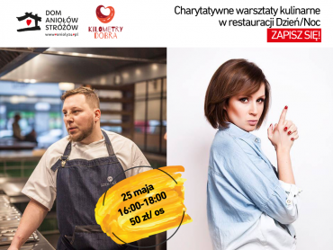 Charytatywne warsztaty kulinarne dostarczą nowych przepisów i pomogą potrzebującym (fot. mat. organizatora)