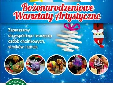 Na warsztaty artystyczne zapraszają galerie handlowe Auchan w Gliwicach, Mikołowie i Żorach (fot. mat. prasowe)