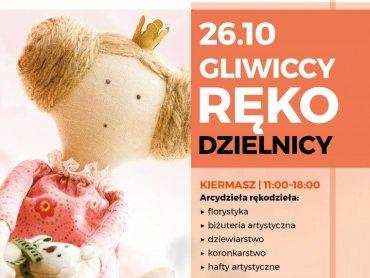 Warsztaty i kiermasz rękodzieła odbędą się 26 października w Forum w Gliwicach (fot. mat. organizatora)