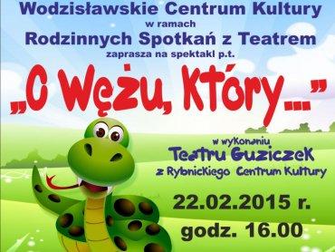 Wodzisławskie Centrum Kultury zaprasza na spektakl (fot. mat. organizatora)