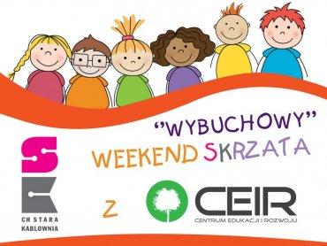 Weekend SKrzata to zabawy i warsztaty dla dzieci w CH Stara Kablownia (fot. mat. organizatora)