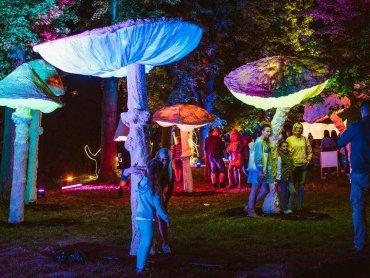 Spektakl kolorów, instalacje świetlne oraz muzyka na żywo - na to mogą liczyć uczestnicy imprezy (fot. mat. organizatora)