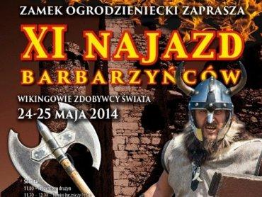 Zamek w Ogrodzieńcu zaprasza na XI Najazd Barbarzyńców (fot. materiały prasowe)
