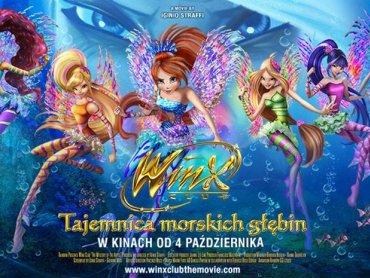 Winx - Tajemnica morskich głębin to kolejny film dla dzieci prezentowany na dużym ekranie Planet Cinema (fot. mat. organizatora)