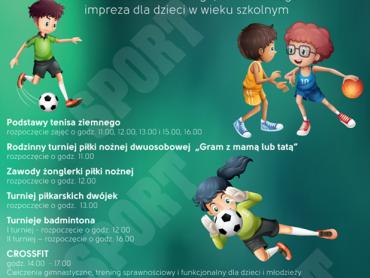 """Impreza pod hasłem """"Witaj szkoło na sportowo"""" odbędzie się 6 września w Sosnowcu (fot. materiały prasowe)"""