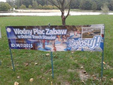 Na wodny plac zabaw zagłosowało 13 tysięcy katowiczan (fot. mat. ogranizatora)