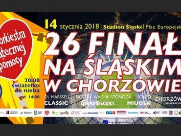 26. finał Wielkiej Orkiestry Świątecznej Pomocy odbędzie się 14 stycznia na Stadionie Śląskim w Chorzowie (fot. mat. organizatora)