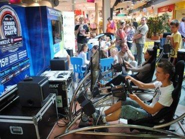 Profesjonalny symulator rajdowy WRC stanie w weekend w CH Auchan (fot. materiały organizatora)