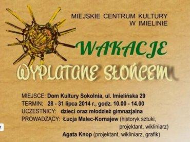 MCK w Imielinie zaprasza na ciekawe warsztaty (fot. materiały organizatora)