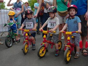 """""""Kocham rowerek"""" to tytuł wyścigów organizowanych w Katowicach (fot. mat. organizatora)"""