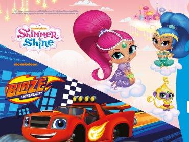 Bajkowy Dzień Dziecka z Blazem, Shimmer i Shine odbędzie się 1 czerwca w godz.12-18 na 3 Stawach (fot. mat. organizatora)