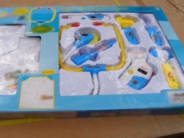Wśród niebezpiecznych zabawek znalazły się m.in. zestawy małego doktora (fot. Izba Administracji Skarbowej)