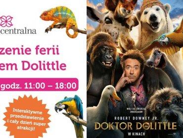 Dzieci zobaczą interaktywne show z udziałem Doktora Dolittle (fot. mat. organizatora)