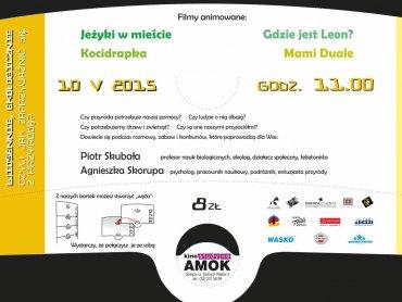 10 maja odbędzie się kolejny Dziecięcy Salonik Filmowy (fot. mat. kina Amok)