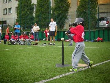 Młodzi baseballiści bardzo dobrze wypadli w turnieju Ligii Morawsko-Śląskiej (fot. mat. BKS Rawa Katowice)