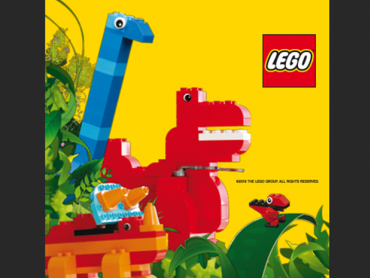 Zabawa z LEGO dinozaurami odbędzie się 23 i 24 lutego (fot. mat. organizatora)