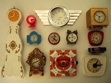 Zegary ścienne będzie można wykonać samodzielnie podczas warsztatów w Piaskownicy Kulturalnej (fot. The Shopping Sherpa /foter.com)oter
