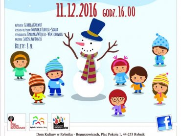 W trakcie spektaklu dzieci mogą liczyć na mikołajkową niespodziankę (fot. mat. organizatora)