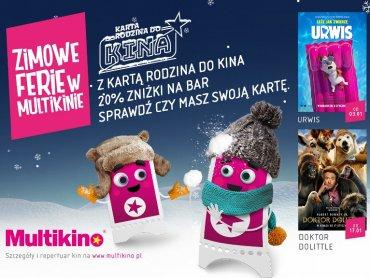 Cena biletu w ferie to 14,90 zł (fot. mat. Multikina)